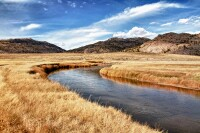Sweetwater River in Wyoming