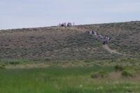 Wyoming Mormon Historic Handcart Site, Sixth Crossing, Short Woman's Pull