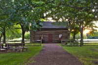 The Whitmer's Log Home