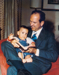 President Nelson and his son