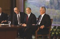 First Presidency news conference