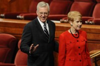 D. Todd Christofferson and his wife, Katherine