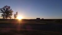 Sunset at Sixth Crossing