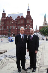Russia: Dieter F. Uchtdorf and Neil L. Andersen