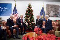 President Donald J. Trump visits Welfare Square