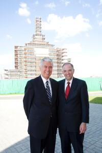 Ukraine: Dieter F. Uchtdorf and Neil L. Andersen