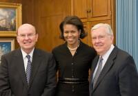 Michelle Obama Visits Church Headquarters