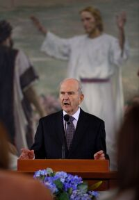 182nd Semiannual General Conference: Missionary Age Change News Conference