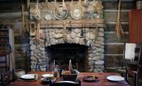 Peter Whitmer Cabin Interior