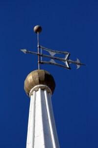 St. George Tabernacle steeple top